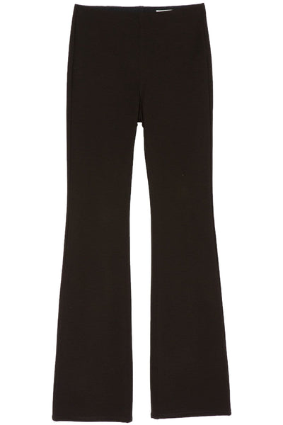 Nina High Rise Pull On Flare in Black