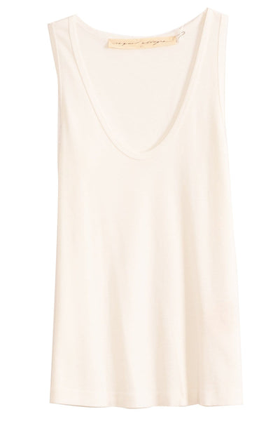 New Perfect Tank in Washed White