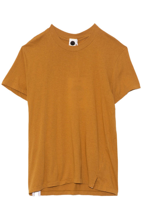 Slim Fit Classic T-Shirt in Mustard Seed