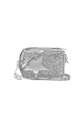 Glitter Star Bag in Silver