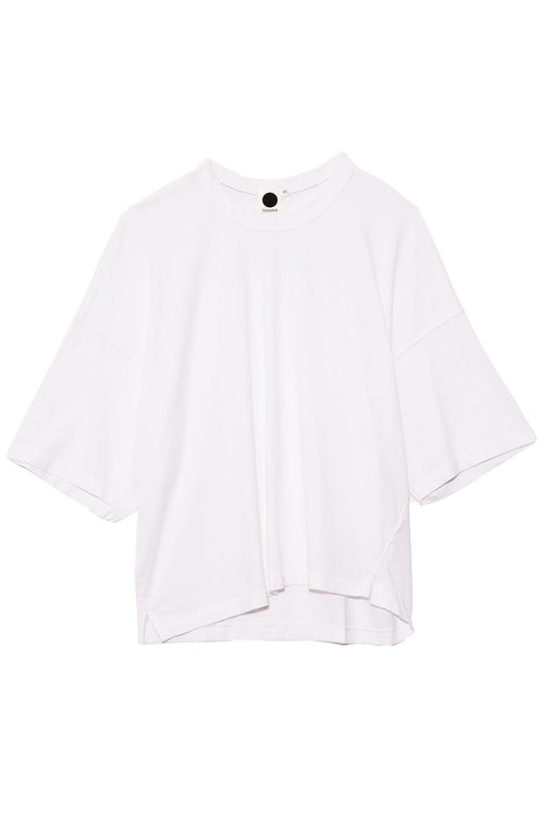 Heritage Boxy T-Shirt in White