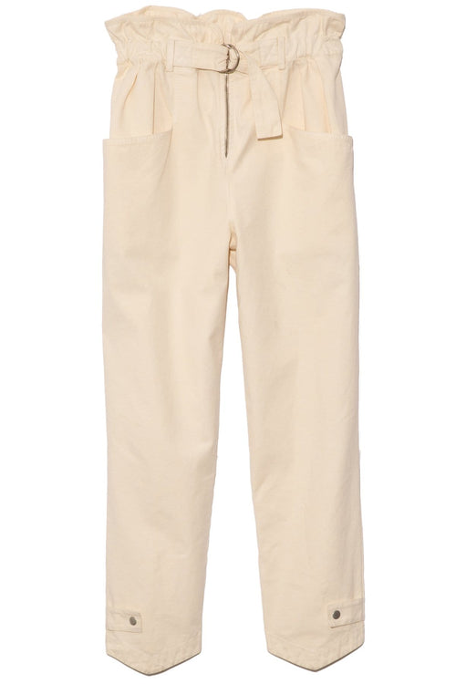 Evelina Pant in Cashew