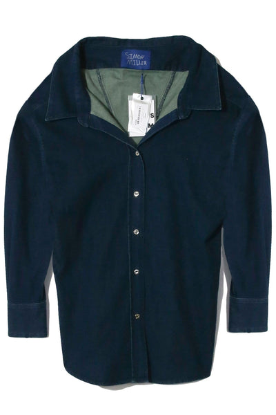 Tabor Shirt in Denim Rinse Down