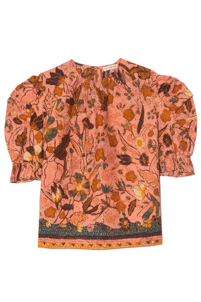 Joni Blouse in Blush Floral