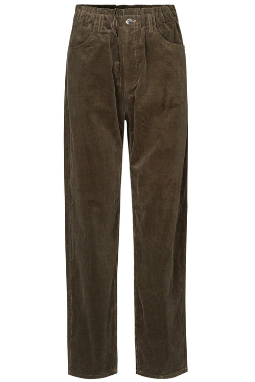 Simonie Trousers in Black Olive
