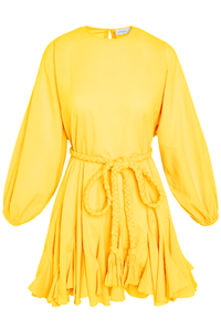 Ella Dress in Canary