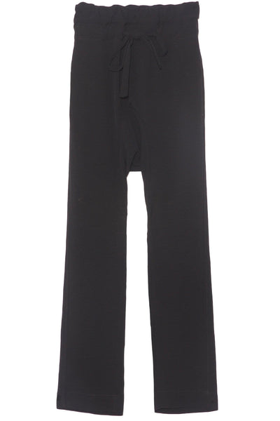 Triacetate Relaxed Pant in Black