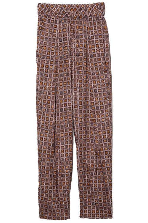 Easy Pant in Golden Foulard