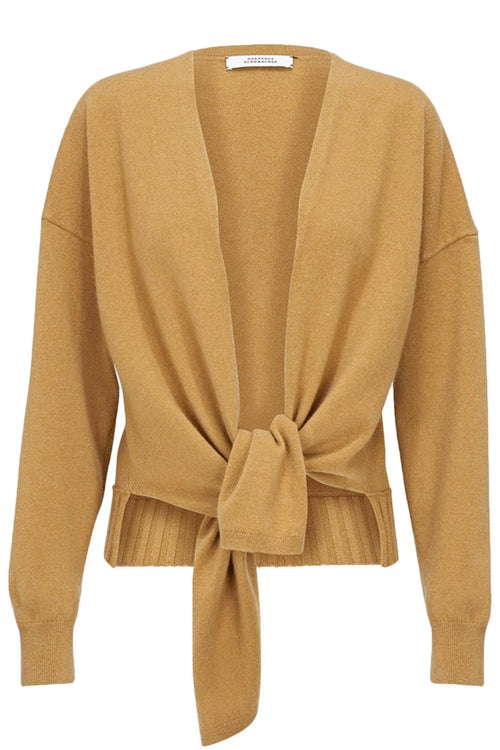 Sophisticated Softness Cardigan in Soft Curry