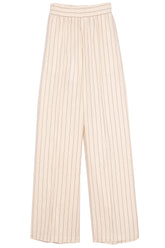 Tillie Pant in Cream Stripe