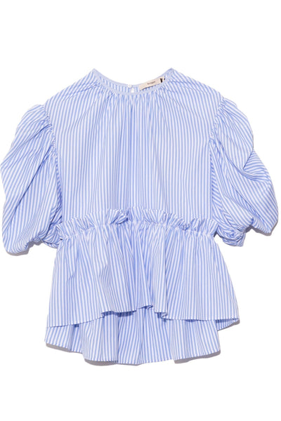 Ada Top in Blue Stripe