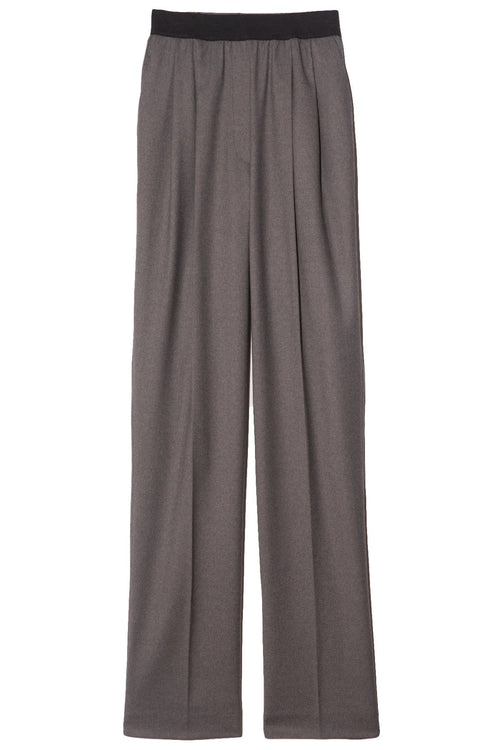 Palazzu Pant in Grey Melange