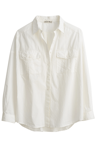 Keeper Button Down in White