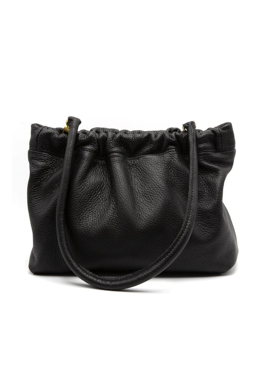 Black Clutch with Removable Strap