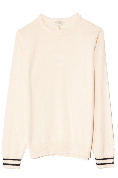 The Skate Sweater in Cream