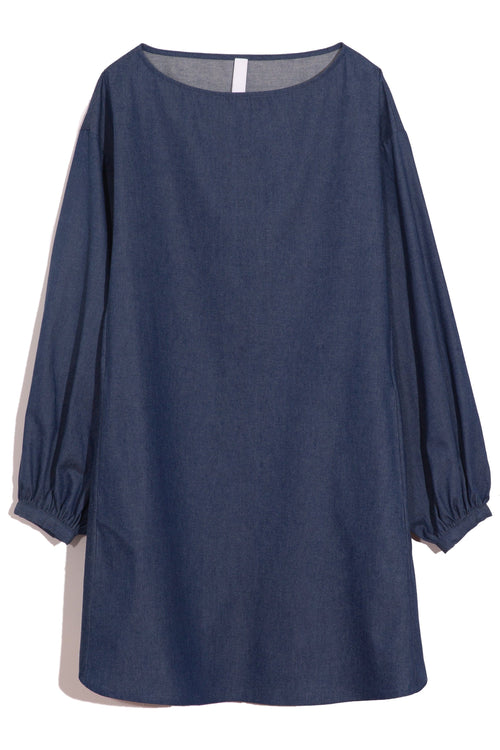 Calvia Dress in Denim