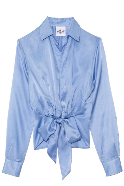 Chica Blouse in Bleu