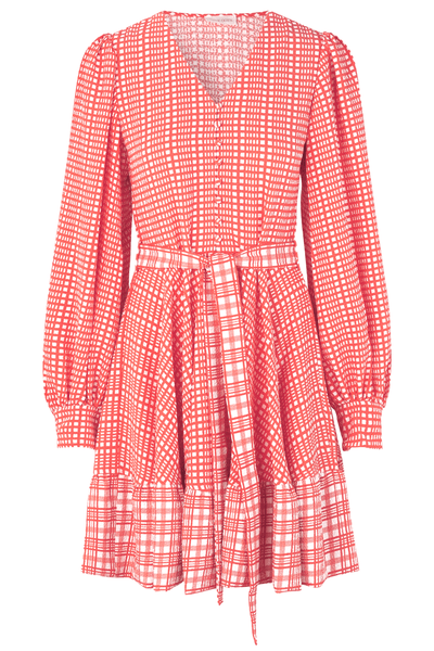 Farrow Dress in Plaid
