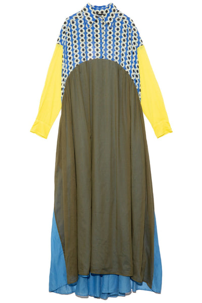 Bahia Dress in Mixed Print