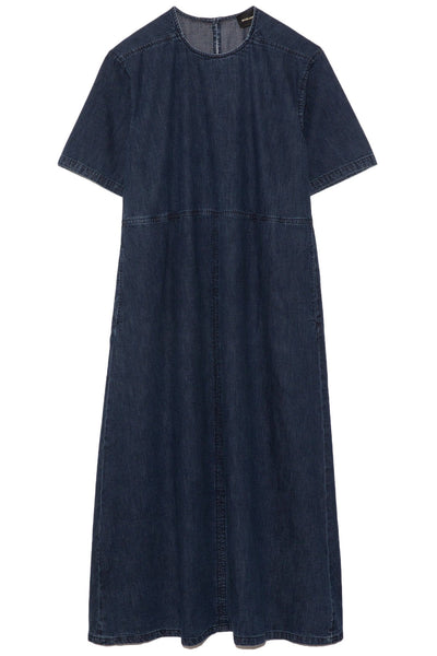 Cedar Dress in Dark Indigo