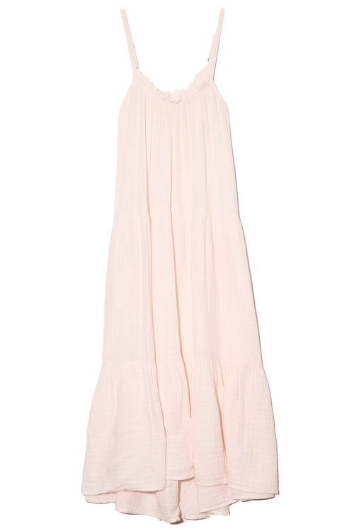 Cara Dress in Pink Glow