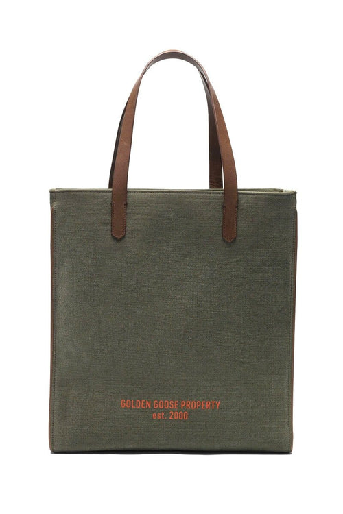 California NS Bag in Green Canvas/Property