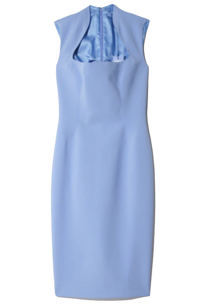 Bodyshaping Dress in Mugler Blue