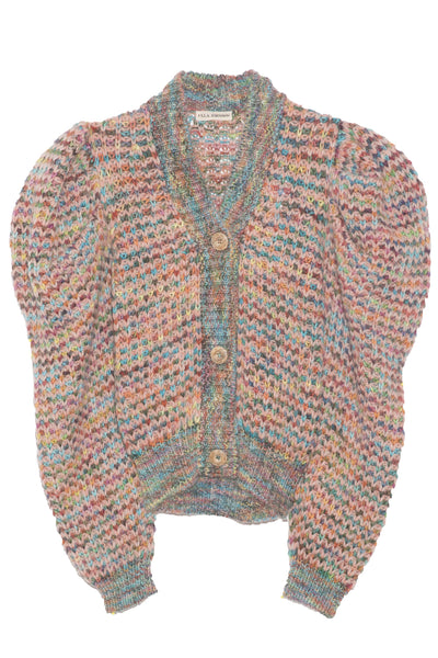 Fiora Cardigan in Tropical