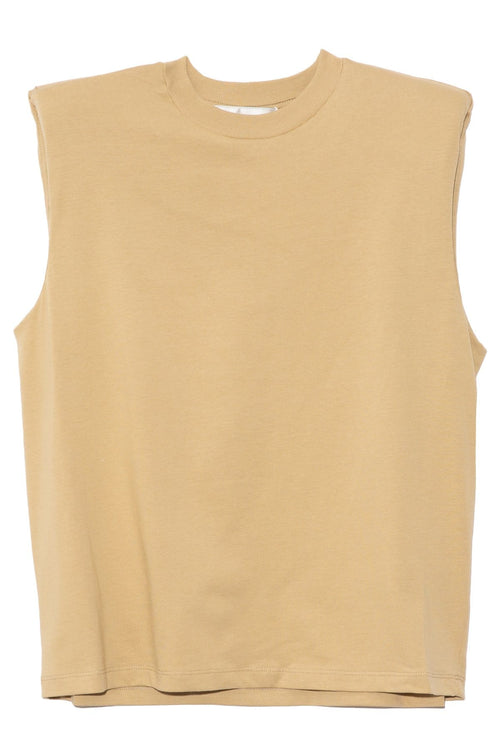 Devon Top in Beige
