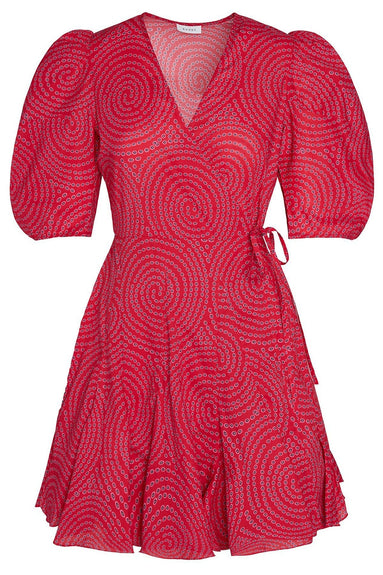 Rosie Dress in Red Trail