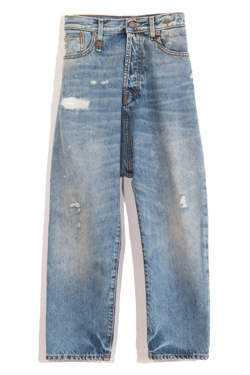 Tailored Drop Denim Jean in Bain