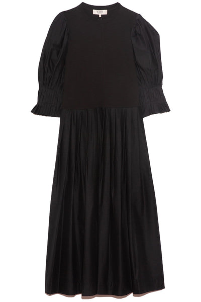 Karla Dress in Black Jersey