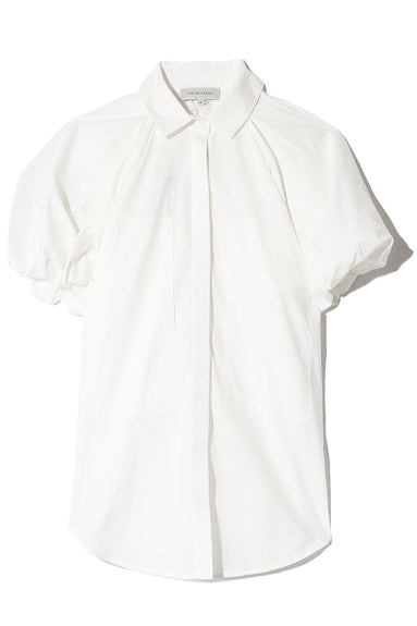 Elsie Puff Sleeve Shirt in Natural