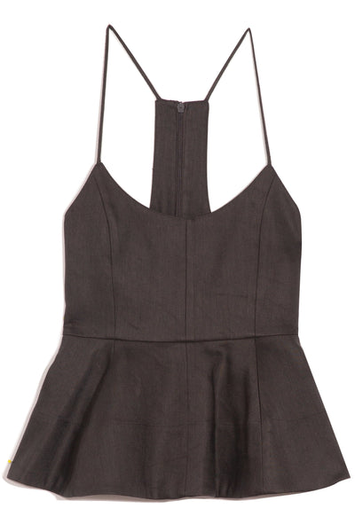 Bonded Wesson Cami in Storm Grey