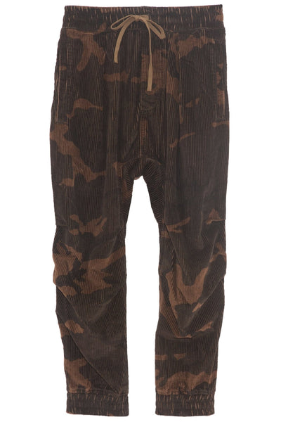 Harem Pant in Camo