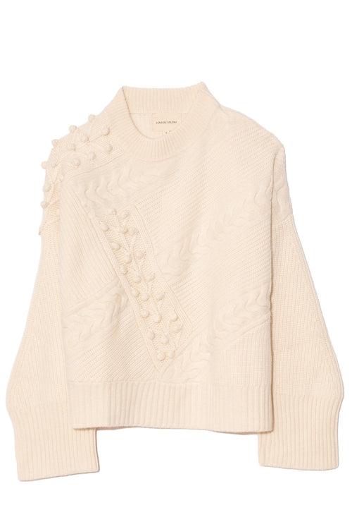 Giraglia Sweater in Ivory