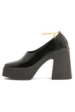 Platform Shoe in Black
