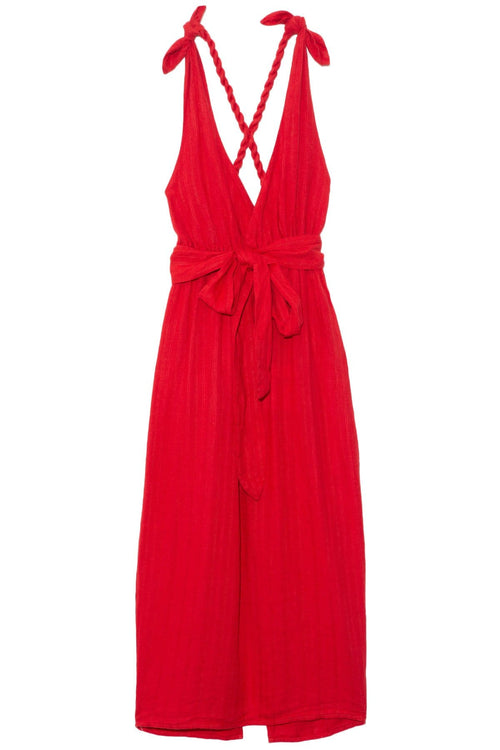Calypso Dress in Red