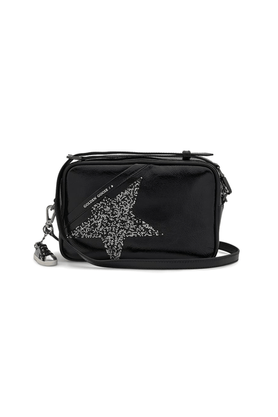 Star Bag with Swarovski Star in Black