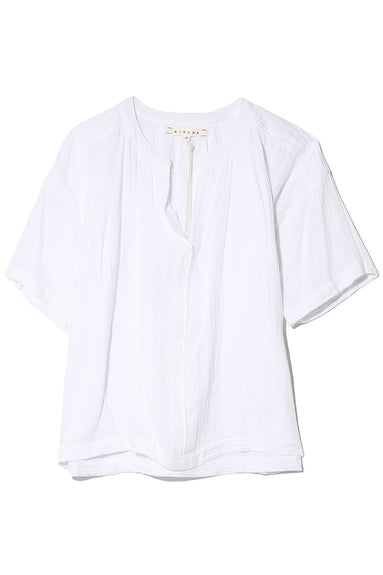 Britton Top in White Wash