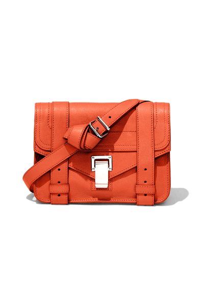 PS1 Mini Crossbody Bag in Tangerine