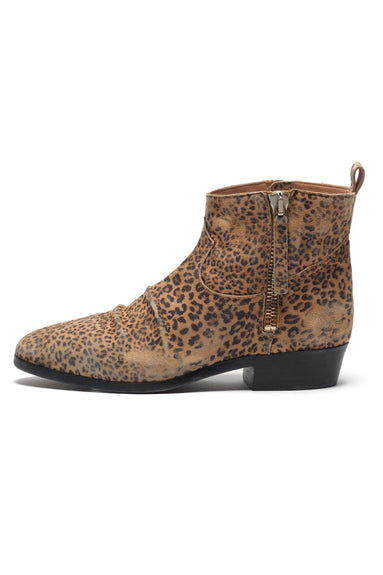 Viand Boots in Leopard Suede
