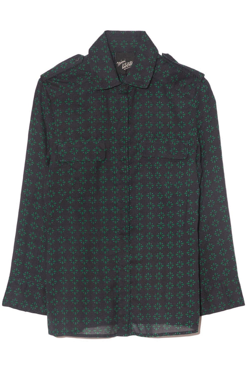 Lee Blouse in Vita Green