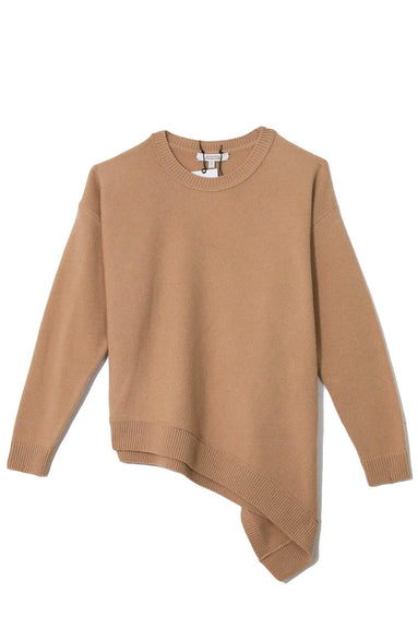 Colorful Vibes Pullover in Warm Beige TS