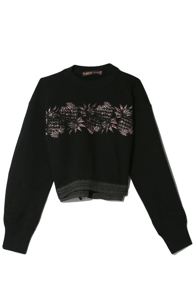 Sun Surf / Pineapple Pullover in Black