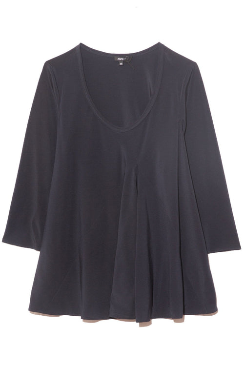 A-Line Top in Navy