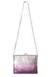 Porte Epaul Bag in Purple/Silver