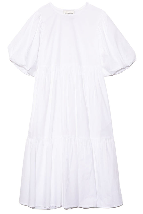 Leoni Dress in White