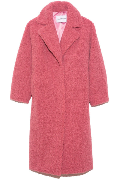 Maria Coat in Berry Pink