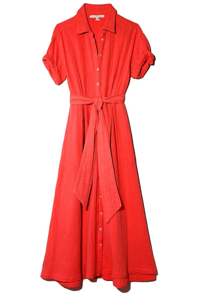 Caylin Dress in Red Rose